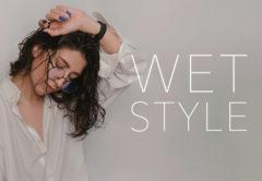 【今っぽい濡れ髪に!】ウェットスタイルでくせ毛がおしゃれに簡単チェンジ!