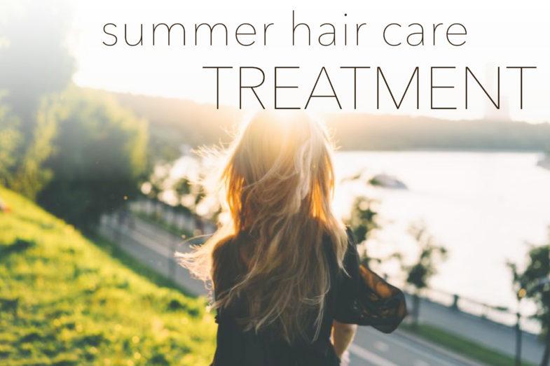 【洗い流すトリートメントと洗い流さないトリートメントの違いって?】夏の紫外線に負けない髪を叶える♡